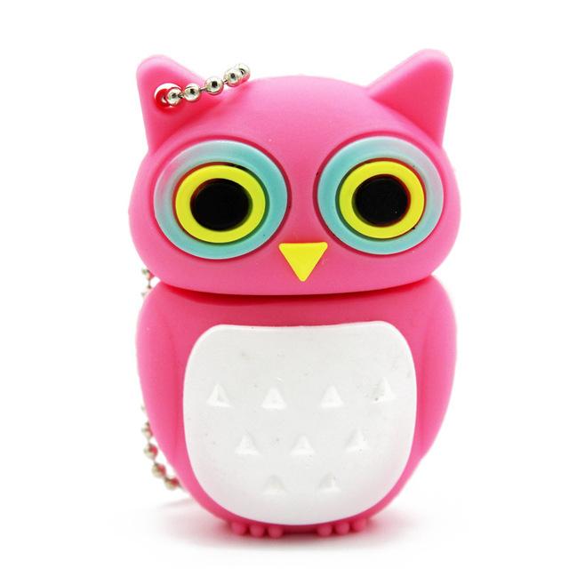 Cute Owl Design USB Flash Drive