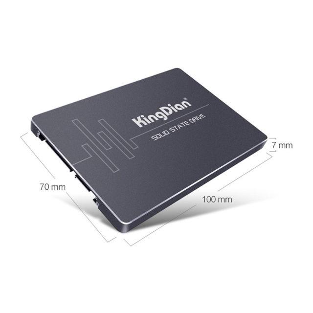 8 /16 / 32 / 60 / 120 / 240 / 480 GB SSD 2.5