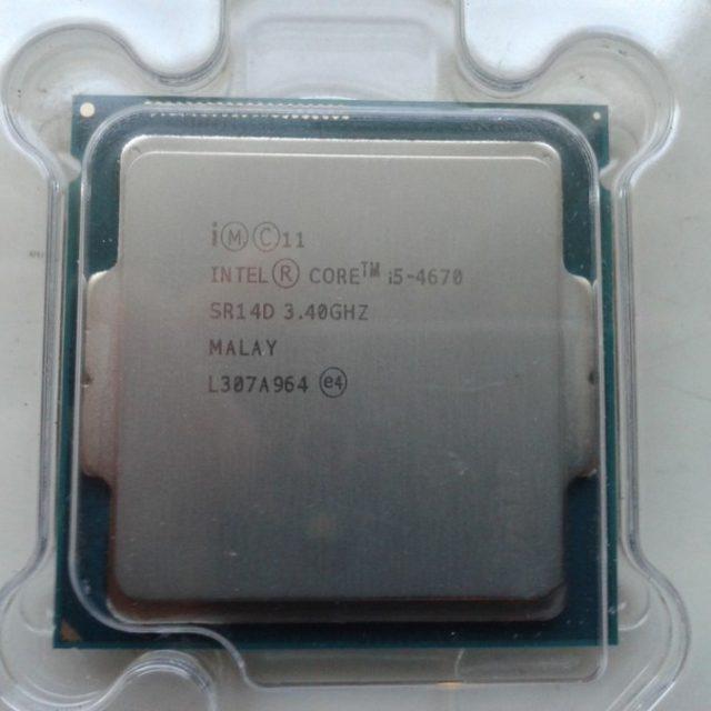 Intel Core I5 4670 3.4GHz