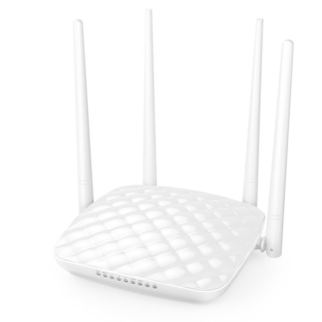 Wi-Fi Wireless Router with Four Antennas