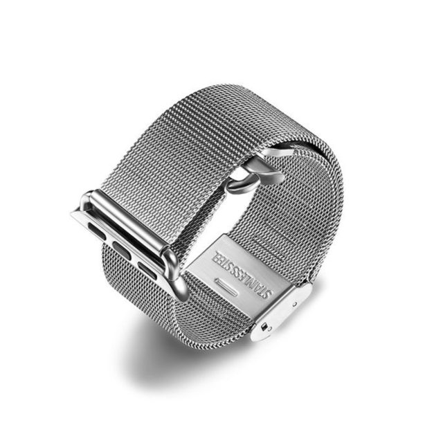 Stainless Steel Mesh Watch Band for Apple Watch