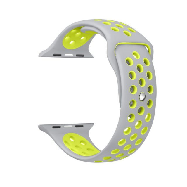 Breathable Colorful Silicone Wristband for Apple Watch