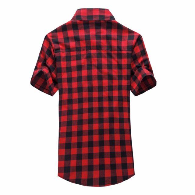 Men's Plaid Summer Shirt