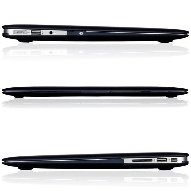 Transparent and Matte Laptop Cases for Apple MacBooks