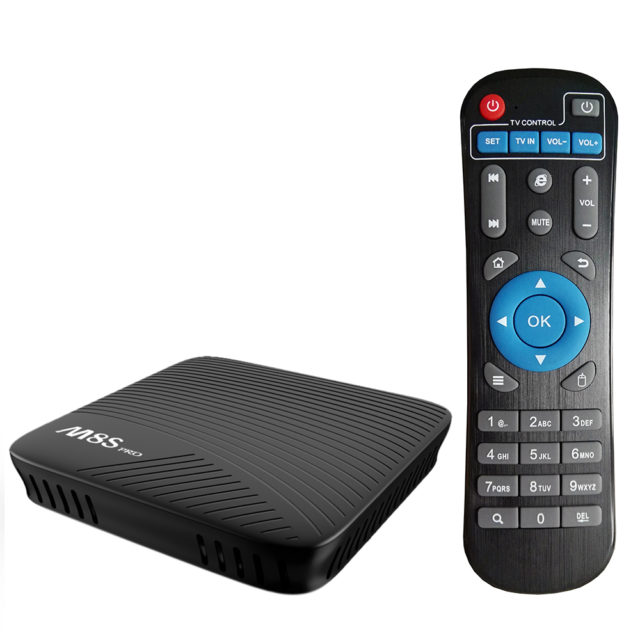 Android 7 Smart TV Box with Bluetooth