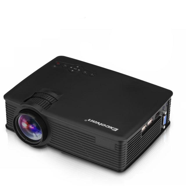 Mini Home Cinema LED Projector with HDMI/USB