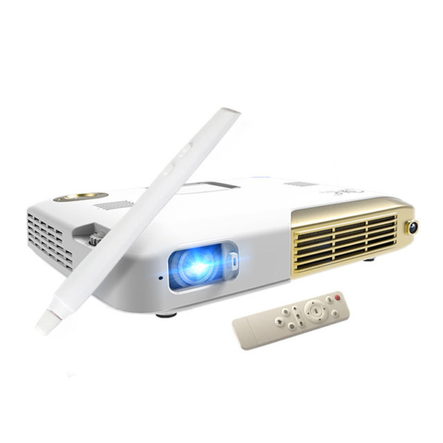Interactive Portable Touch Screen LED Mini Projector