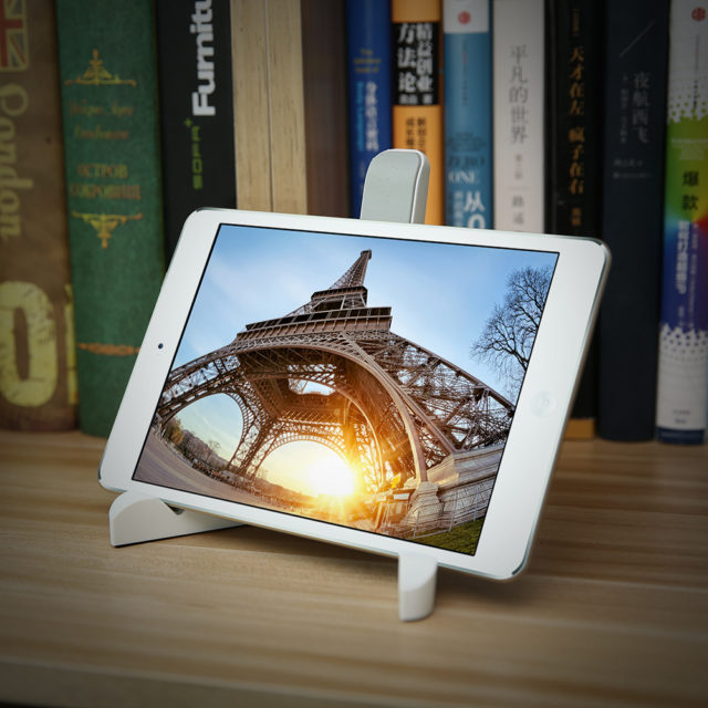 Flexible Plastic Tablets Stand for iPad