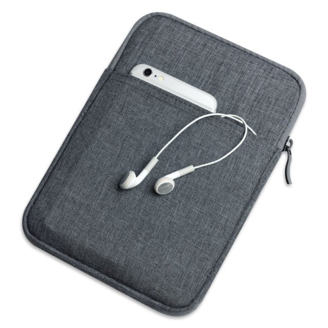 Protective Shockproof Canvas Tablet Case with Zipper