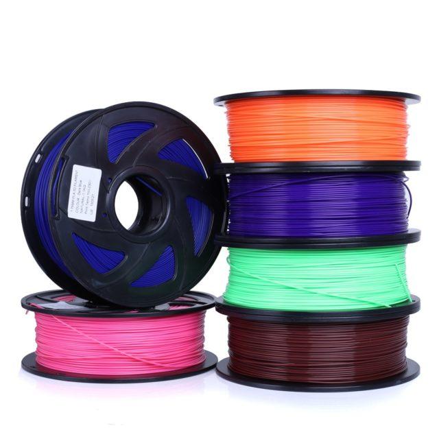 Professional Spare Plastic 3D Printer Filament