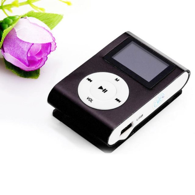 Portable Mini USB Clip MP3 Player LCD Screen Support 32GB Micro SD TF Card Music Micro SD  Music Player Jan 10