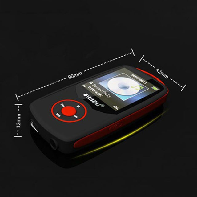 Mini MP3 Player with LCD Screen