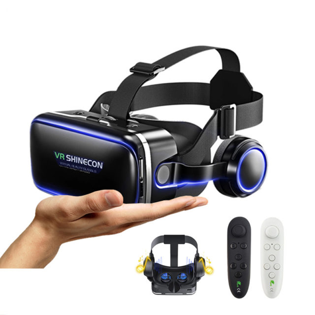 Virtual Reality Glasses and Smart Bluetooth Wireless Remote Control