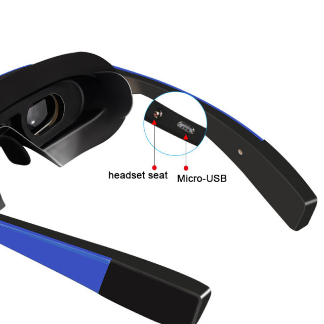 Amazing 98 Inch V-Screen 3D Smart Video Glasses