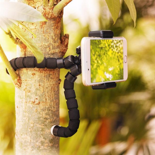 Flexible Mini Holder Tripod for Phone