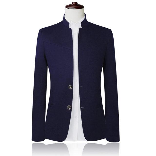 Men's Stylish Single-Breasted Blazer