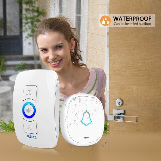 Songs Optional Waterproof Wireless Smart Doorbell