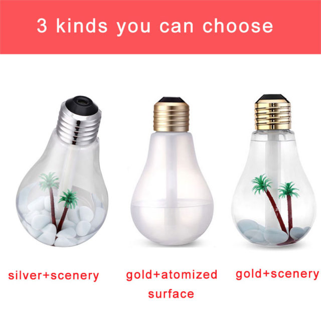 400 ml LED Lamp Home Essential Oil Diffuser and Humidifier