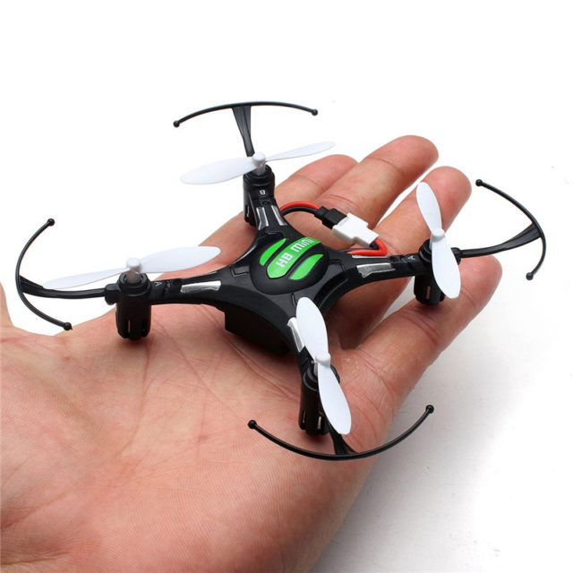 Mini Headless RC Quadcopters