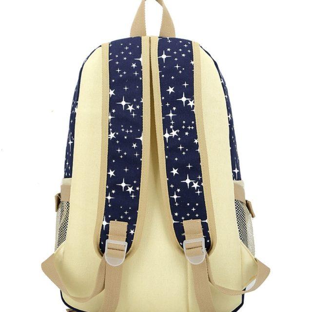 Girl's Cute School Bags 3 pcs Set