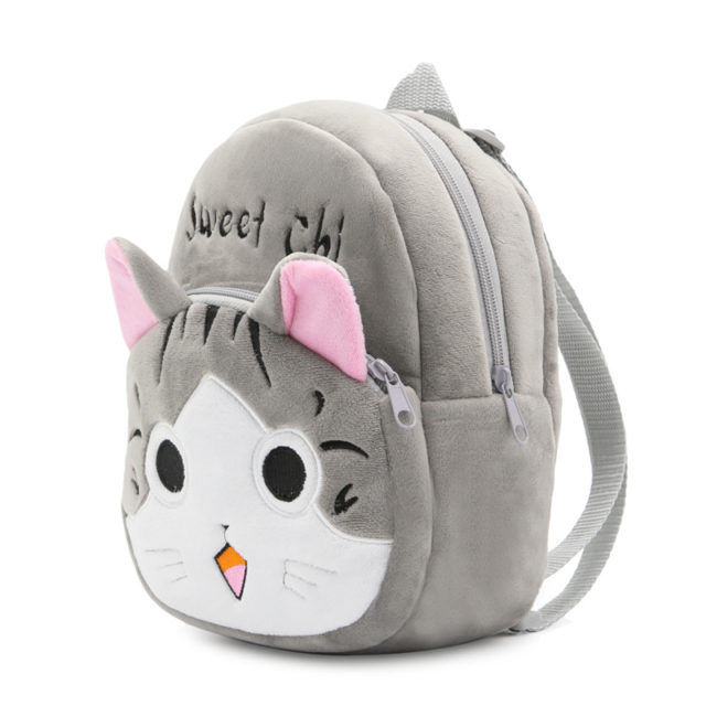 Kawaii Animals Kid's Plush Backpack