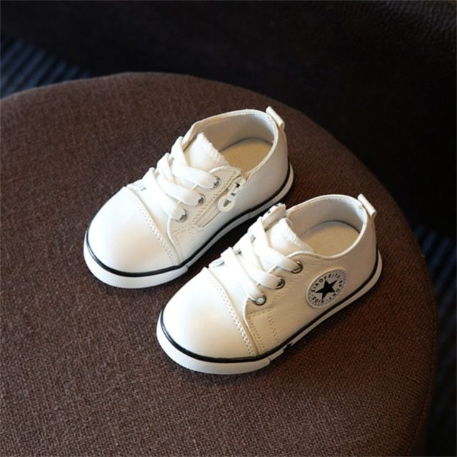 Fashion Breathable Canvas Baby Shoes