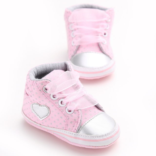 Soft Lace-up First Walkers for Newborn