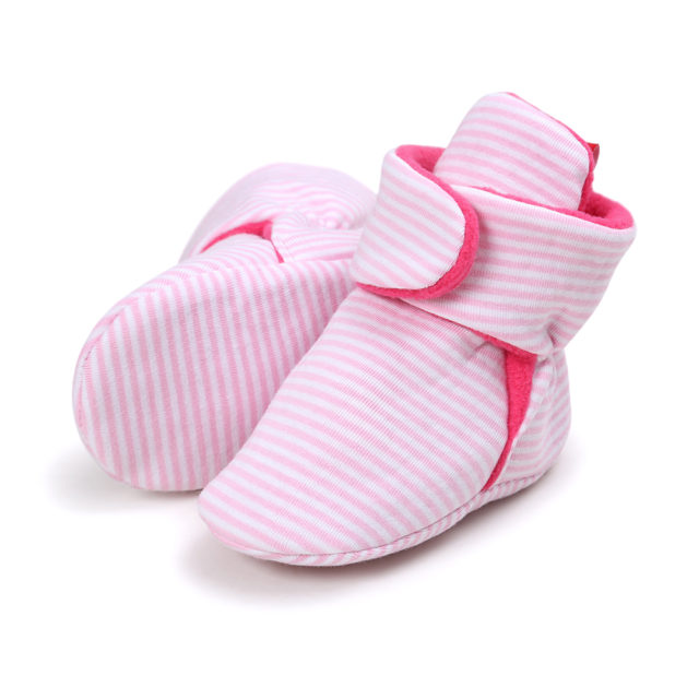 Fashion Comfortable Soft Cotton Baby Girl's Boots