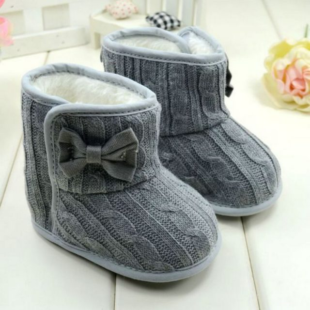 Lovely Comfortable Warm Wool Baby Girl's Boots