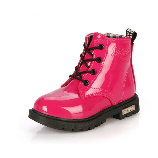 Fashion Comfortable Waterproof Rubber Kid's Boots