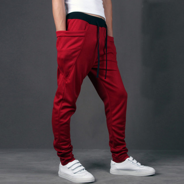 Men's Street Style Big Pockets Pants