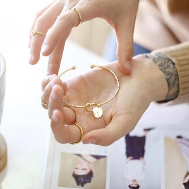 Women's Charm Letter Pandant Bracelet