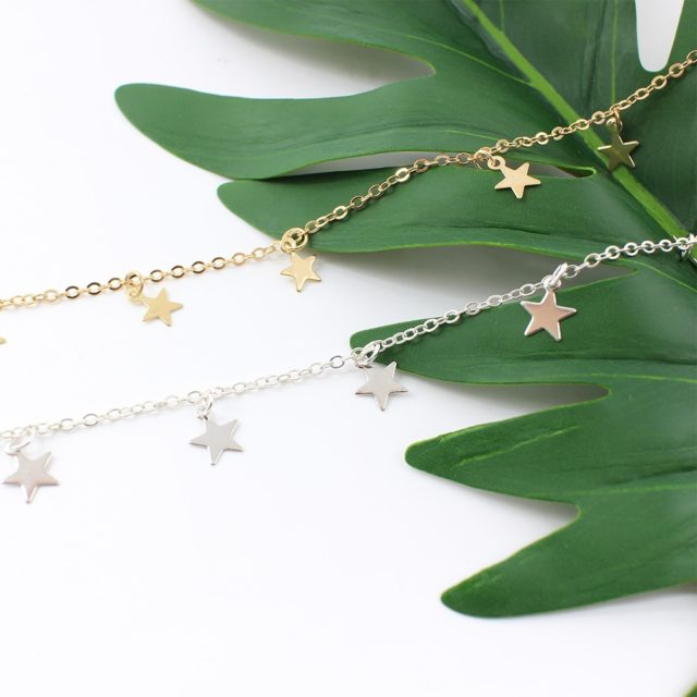 Women's Choker with Stars
