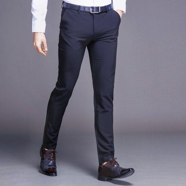Slim Cotton Pants