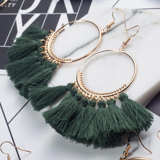 Women's Bohemian Tassel Earrings