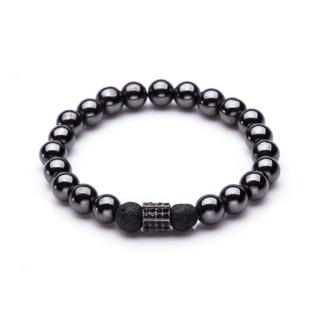Women's Natural Stone Beaded Bracelet