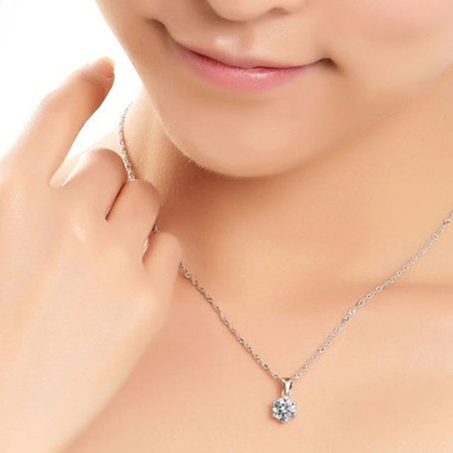 Fashion Silver Color Cubic Zircon Jewelry Sets