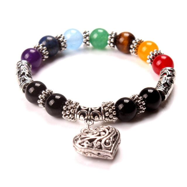 Chakra Beaded Bracelet for Women