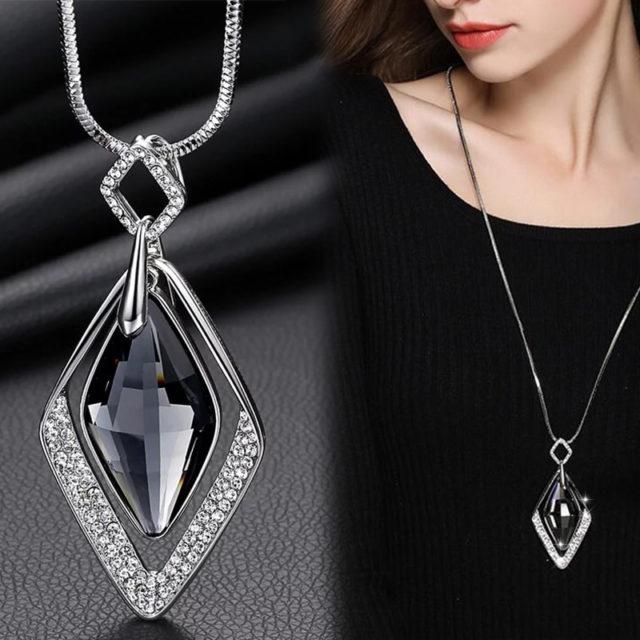 Women's Long Pendant Necklaces