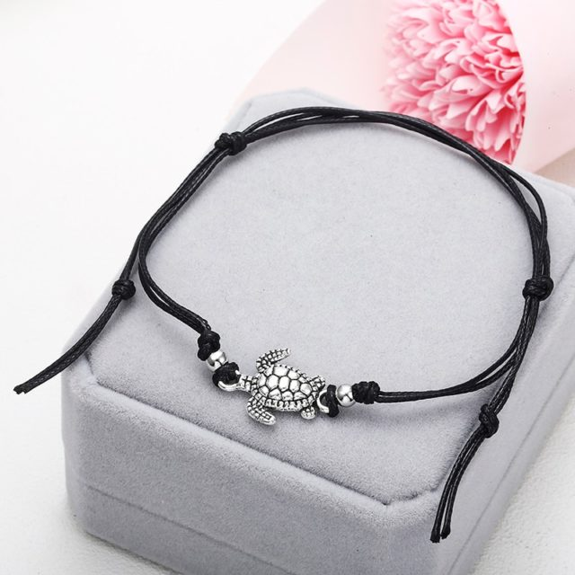 Women's Turtle Designed Anklet