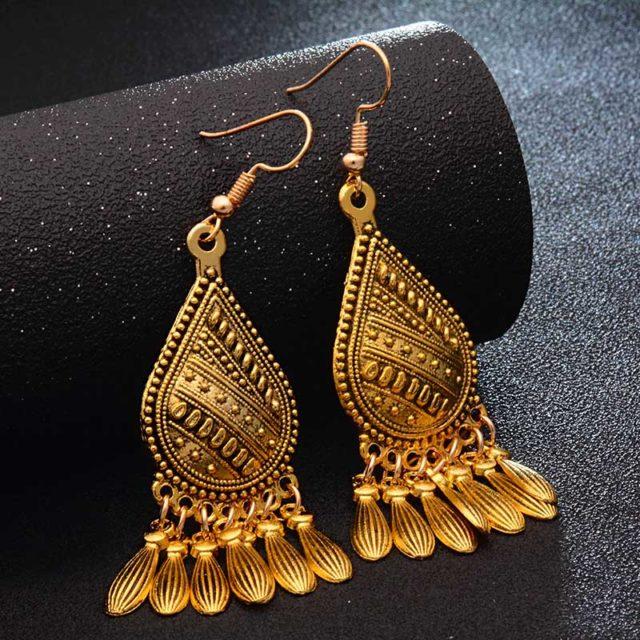 Fashion Metal Dangle Earrings