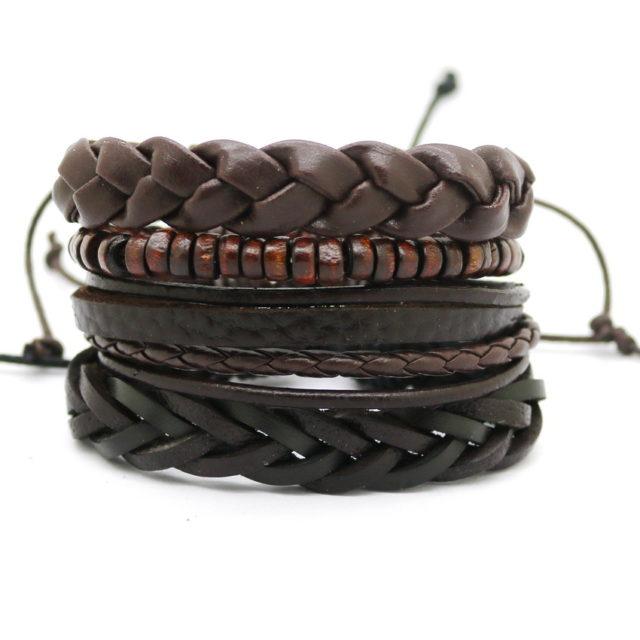 Women's Multilayer Boho Leather Bracelet