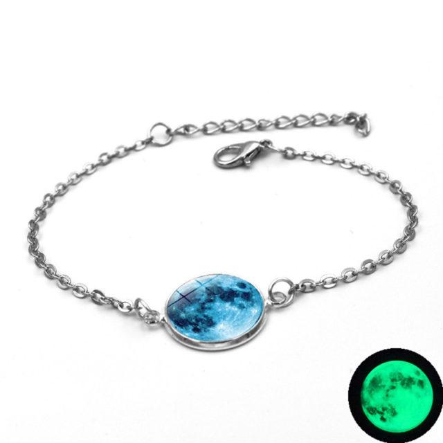 Women's Luminous Moon Strand Bracelet