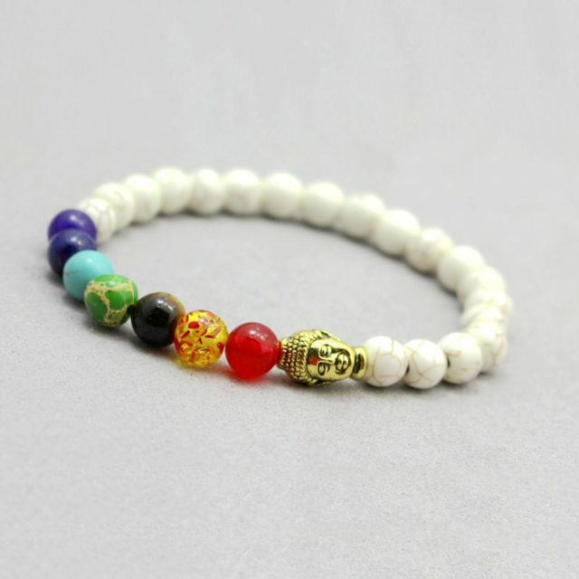 Women's Chakra Beaded Bracelet