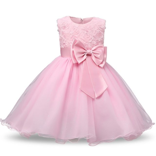 Luxury Bouffant Bright Baby Girl's Ball Gown