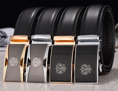 Men's Russian Emblem Leather Belt
