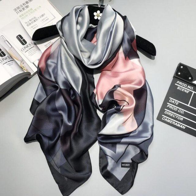 Women's Luxurious Wrap Silk Beach Shawl