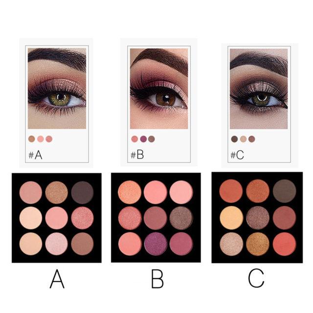 Mineral Matte Eye Shadows Palette