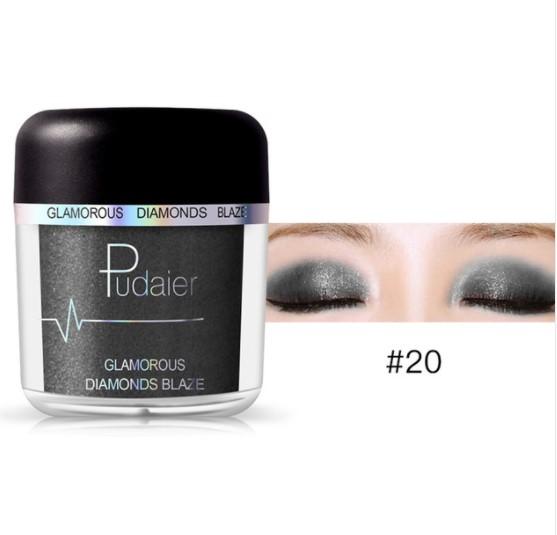 Glitter Metallic Eye Shadow Powder