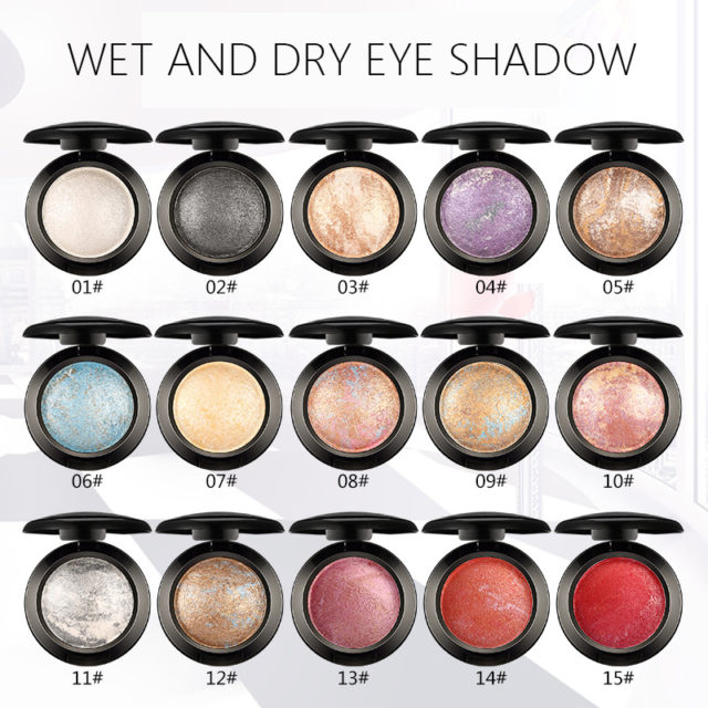 Professional Single Color Eyeshadow Palette